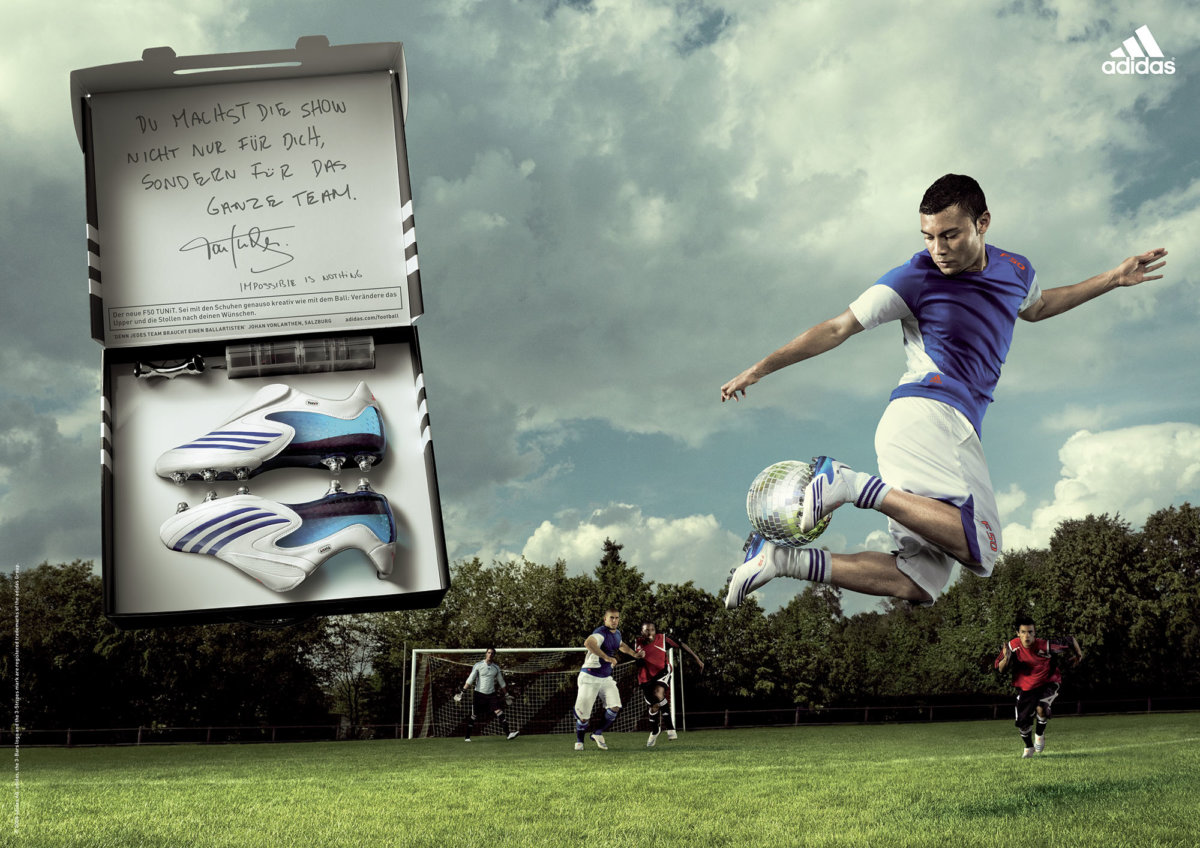 Adidas – Levon Biss - CRXSS