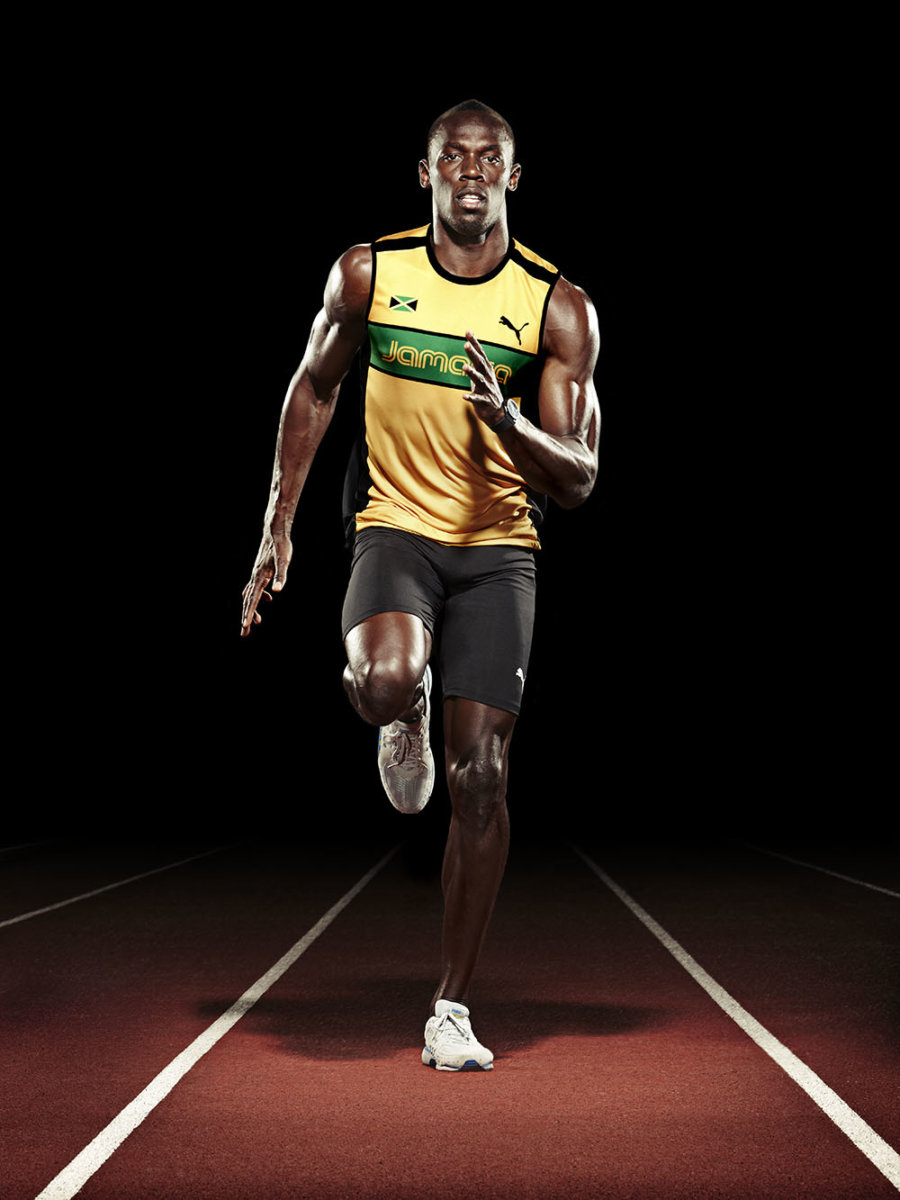 Levon Biss and Usain Bolt team up for PayPal. - CRXSS