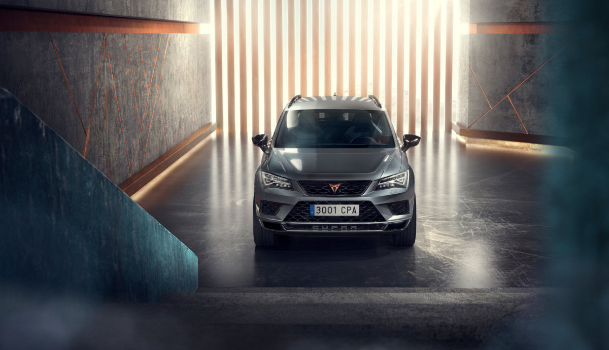 SEAT Cupra Ateca – Full CGI Production - CRXSS