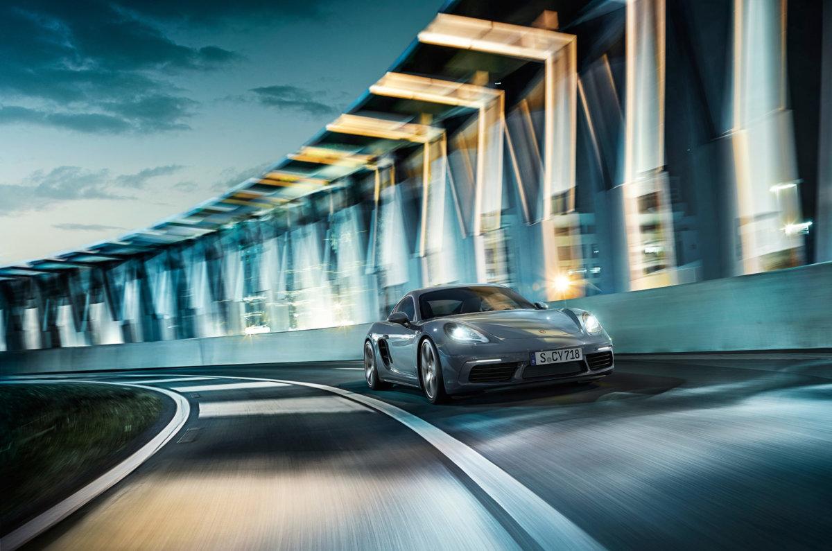 Porsche 718 Cayman – Circle Media - CRXSS