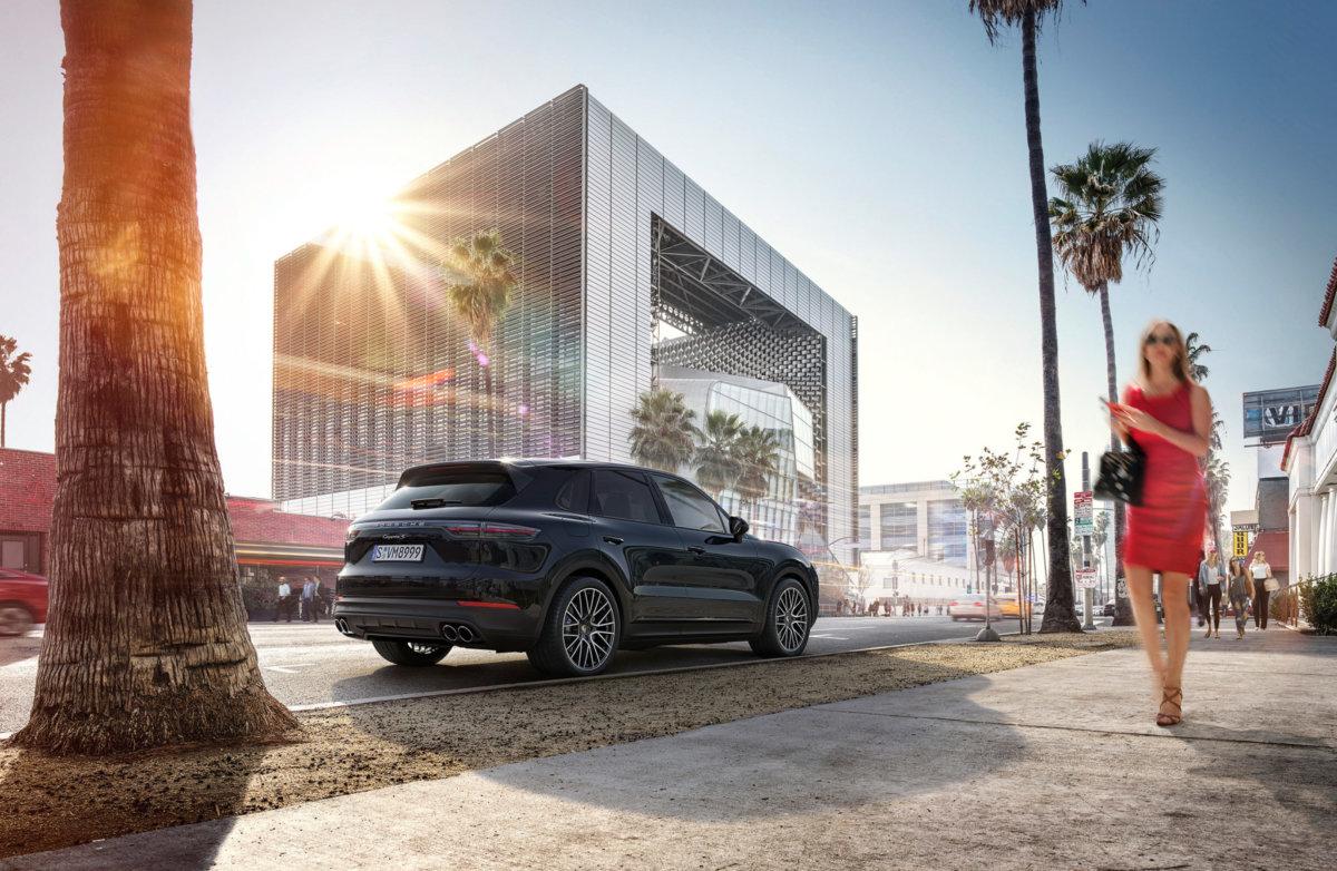 Porsche Cayenne E3 – Circle Media - CRXSS