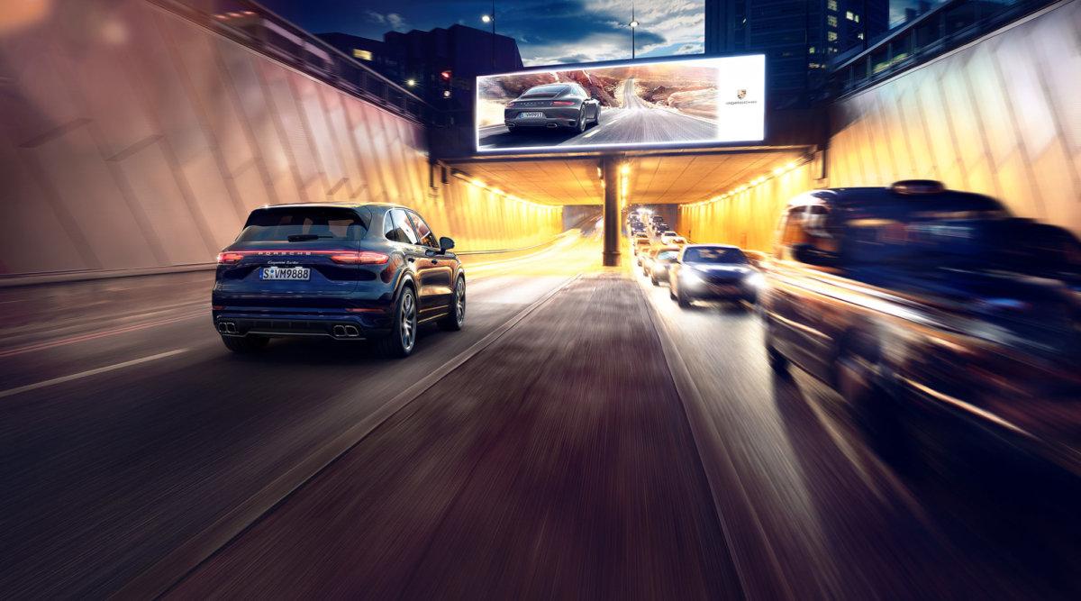 Porsche Cayenne GB – Circle Media - CRXSS