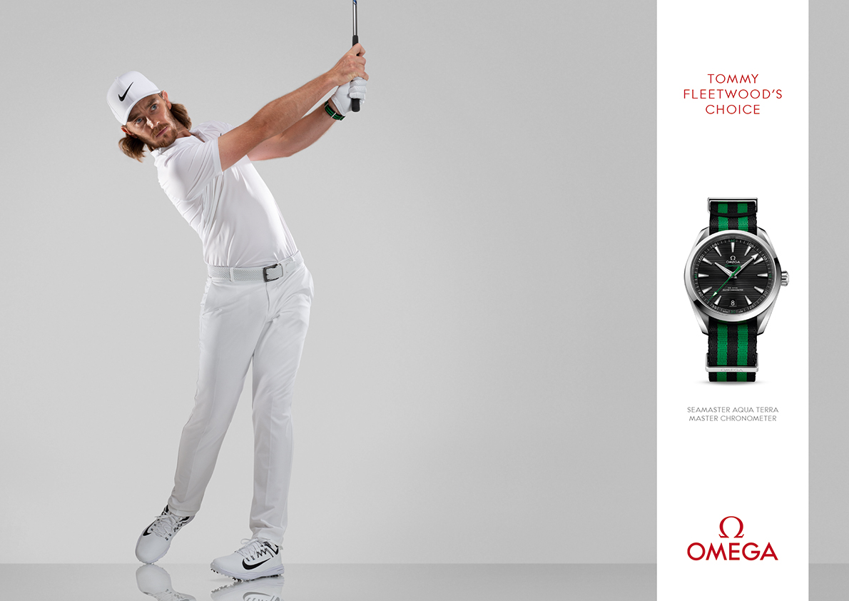 Tommy Fleetwood for OMEGA - CRXSS