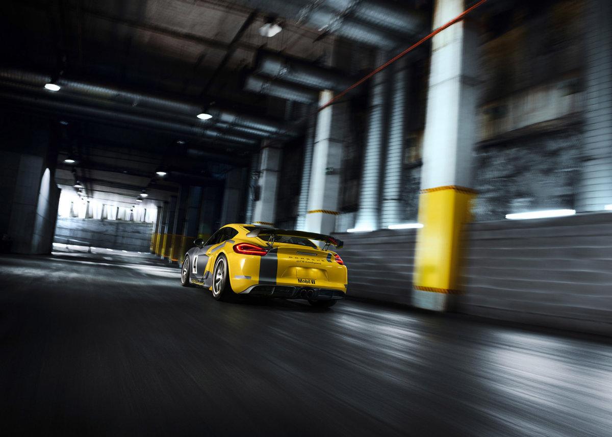 Porsche Cayman GT – Simon Puschmann - CRXSS