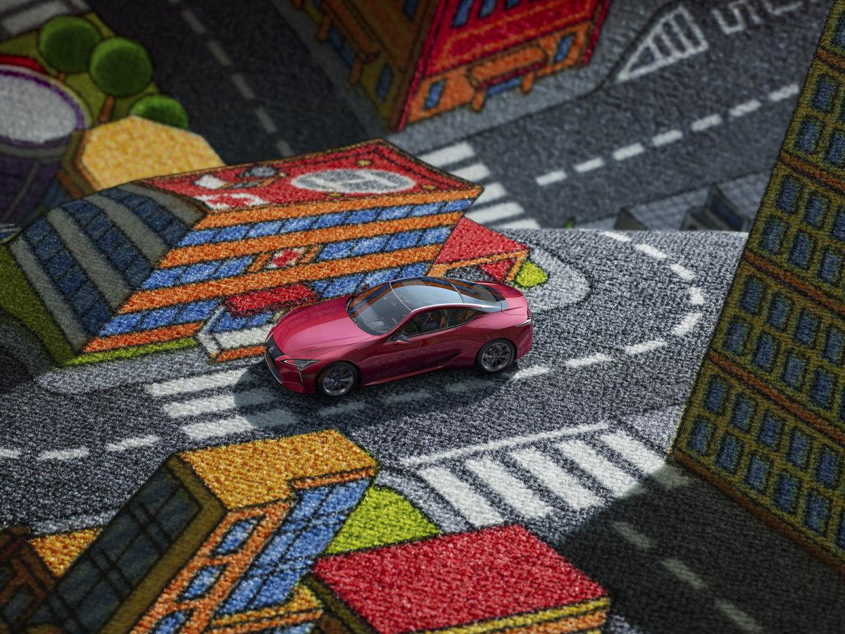 Car Carpet by Simon Puschmann - CRXSS