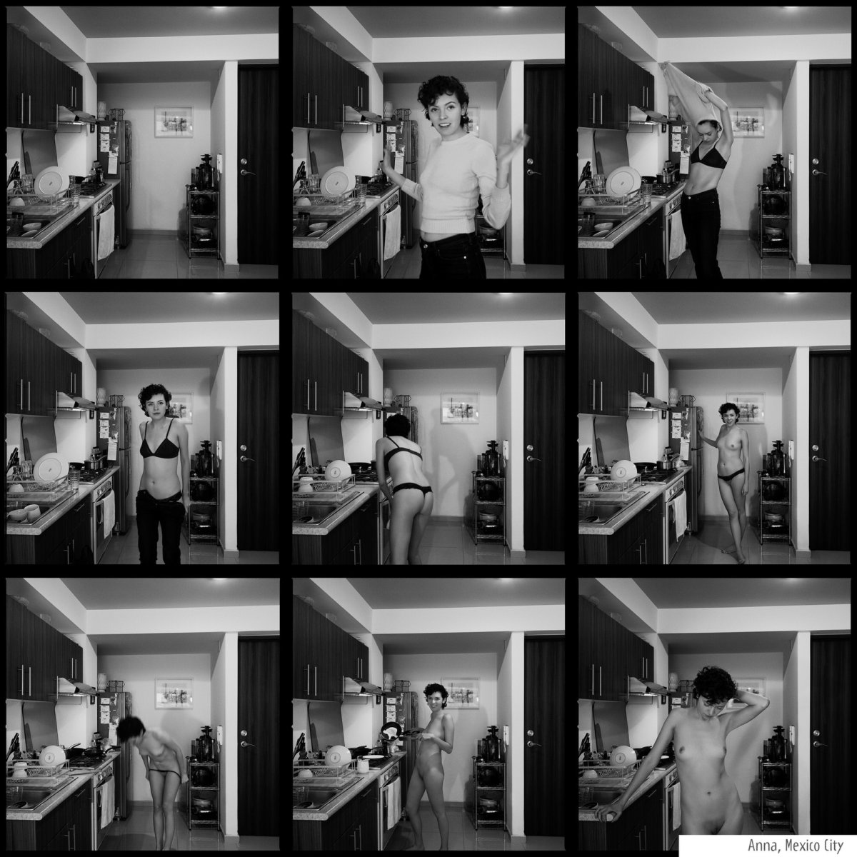 AOP Gold! Naked in the Kitchen by Simon Puschmann - CRXSS