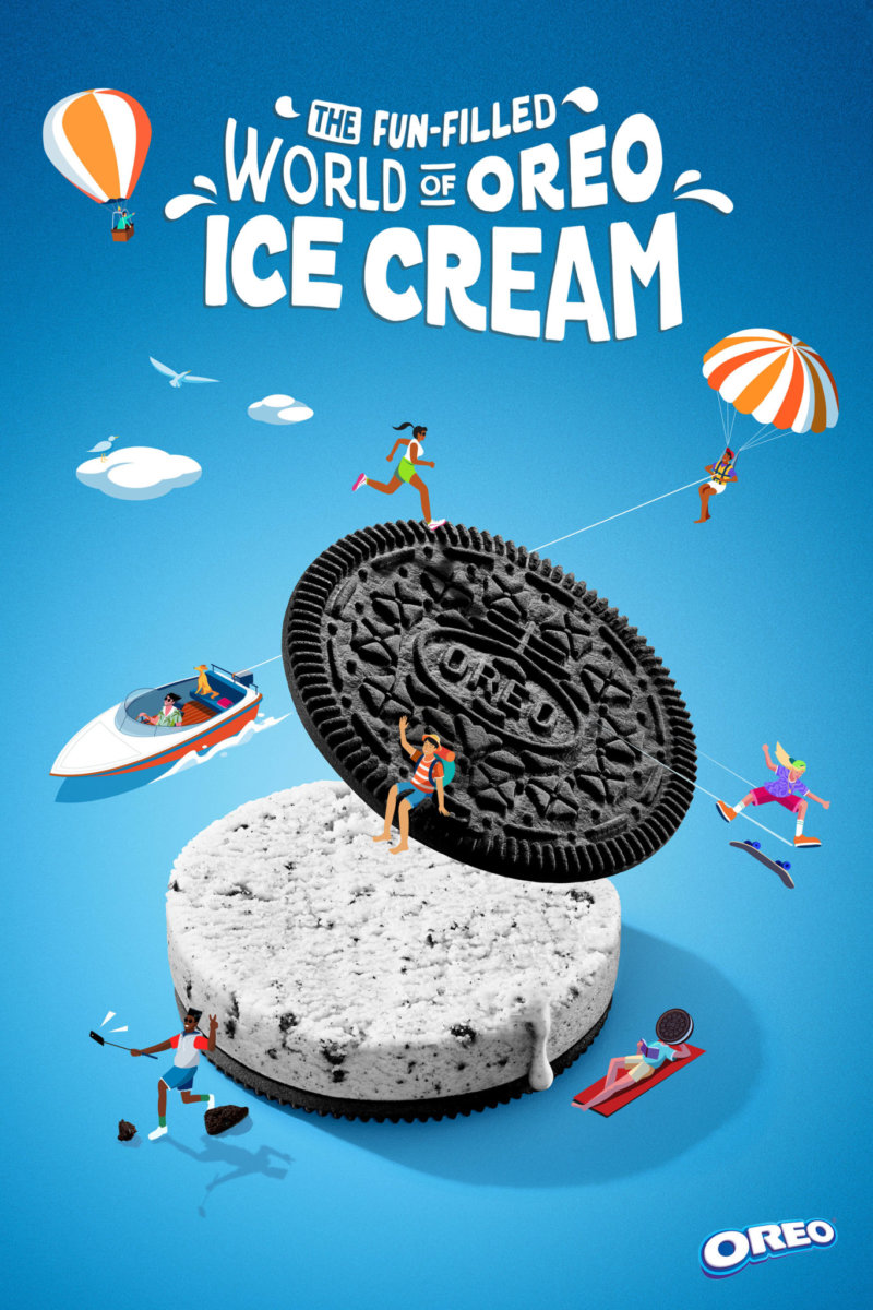 The World of OREO Ice Cream by Sun Lee - CRXSS