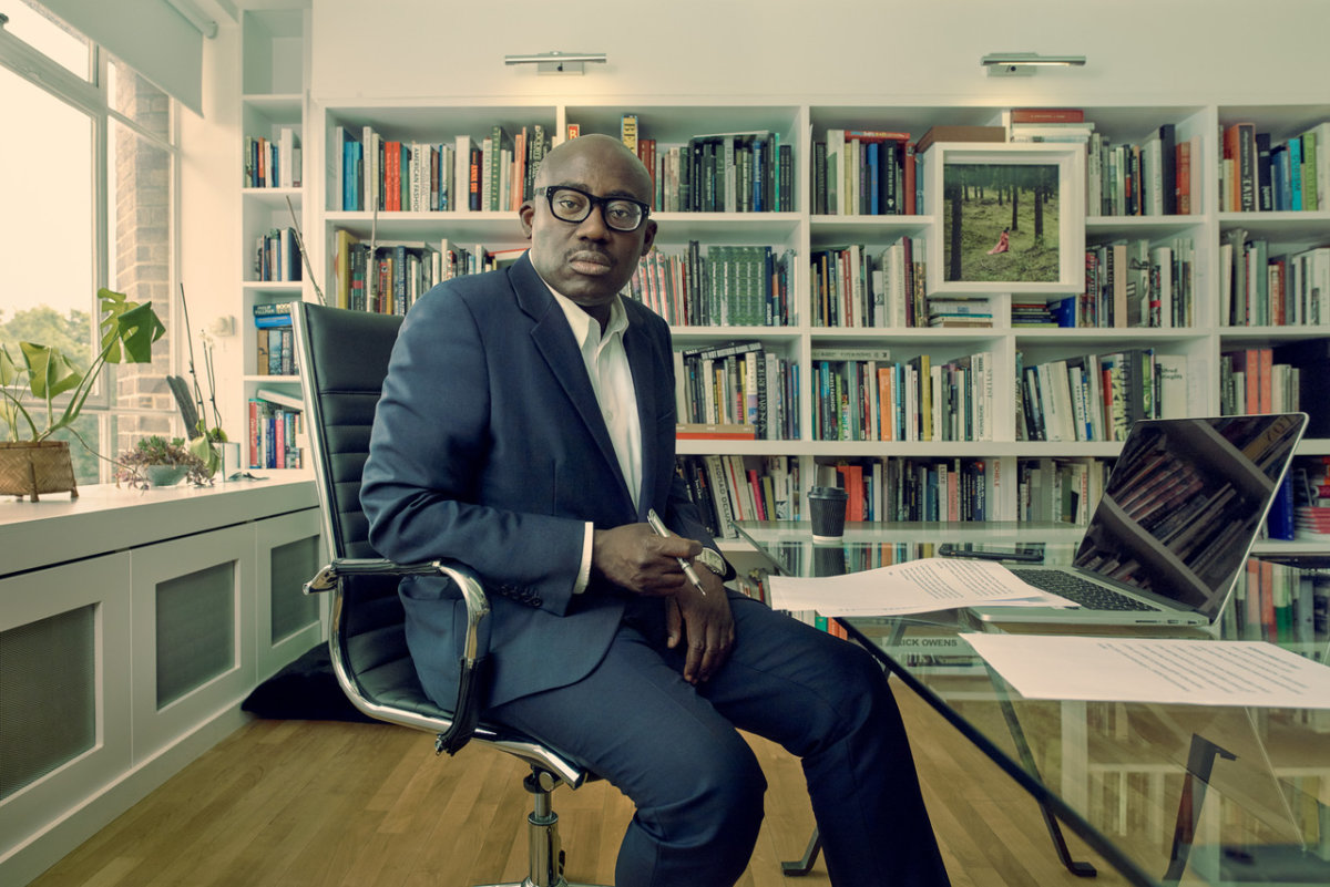 British Vogue Editor Edward Enninful by Sebastian Nevols. - CRXSS