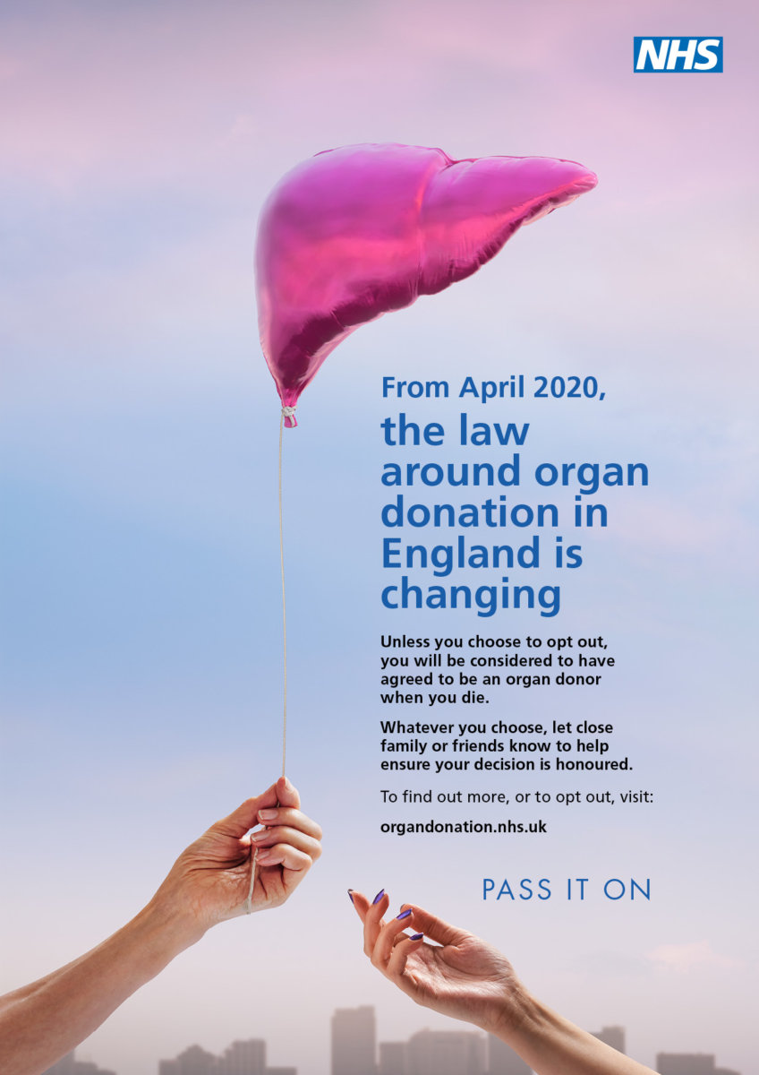 The law around organ donation in England is changing. A campaign by Dirk Rees. - CRXSS