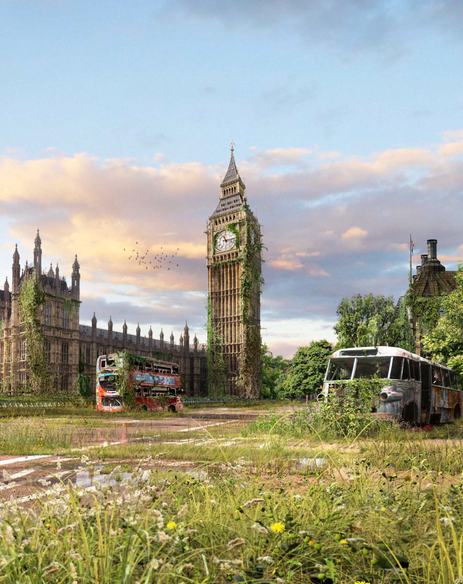 Big Ben – 30th March 2020 – 11:23am as seen by Atomic 14 - CRXSS