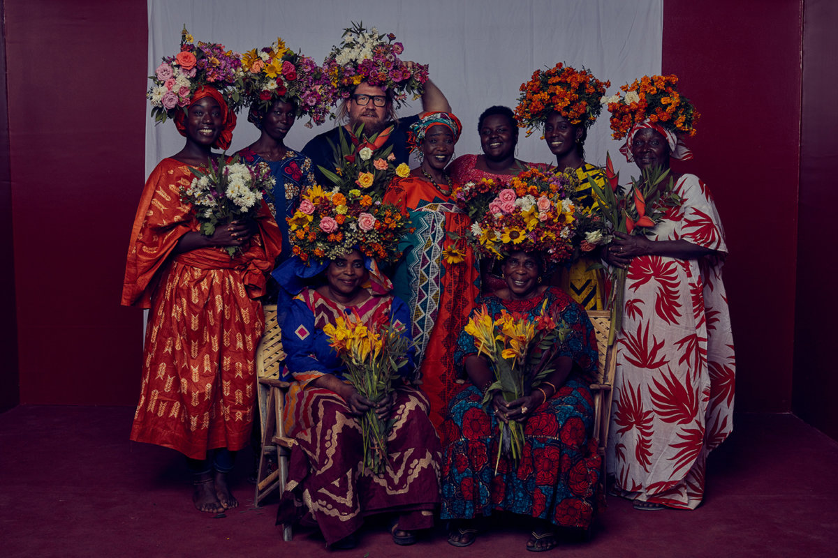 Fleur Femmes: A Personal Project by Dirk Rees - CRXSS