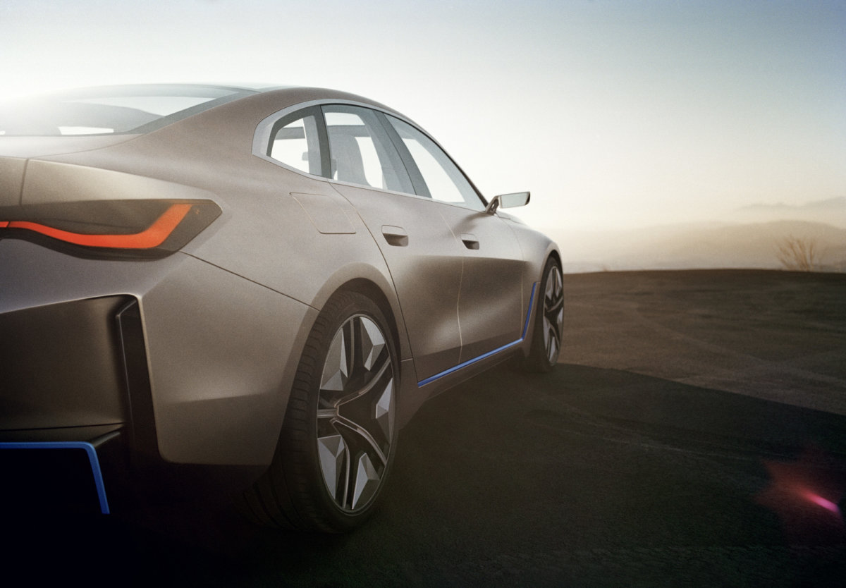 Born Electric – Shot Analogue. The BMW Concept i4 by Simon Puschmann. - CRXSS