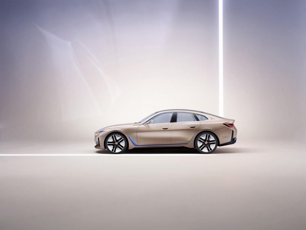 BMW Concept i4 by Simon Puschmann. - CRXSS