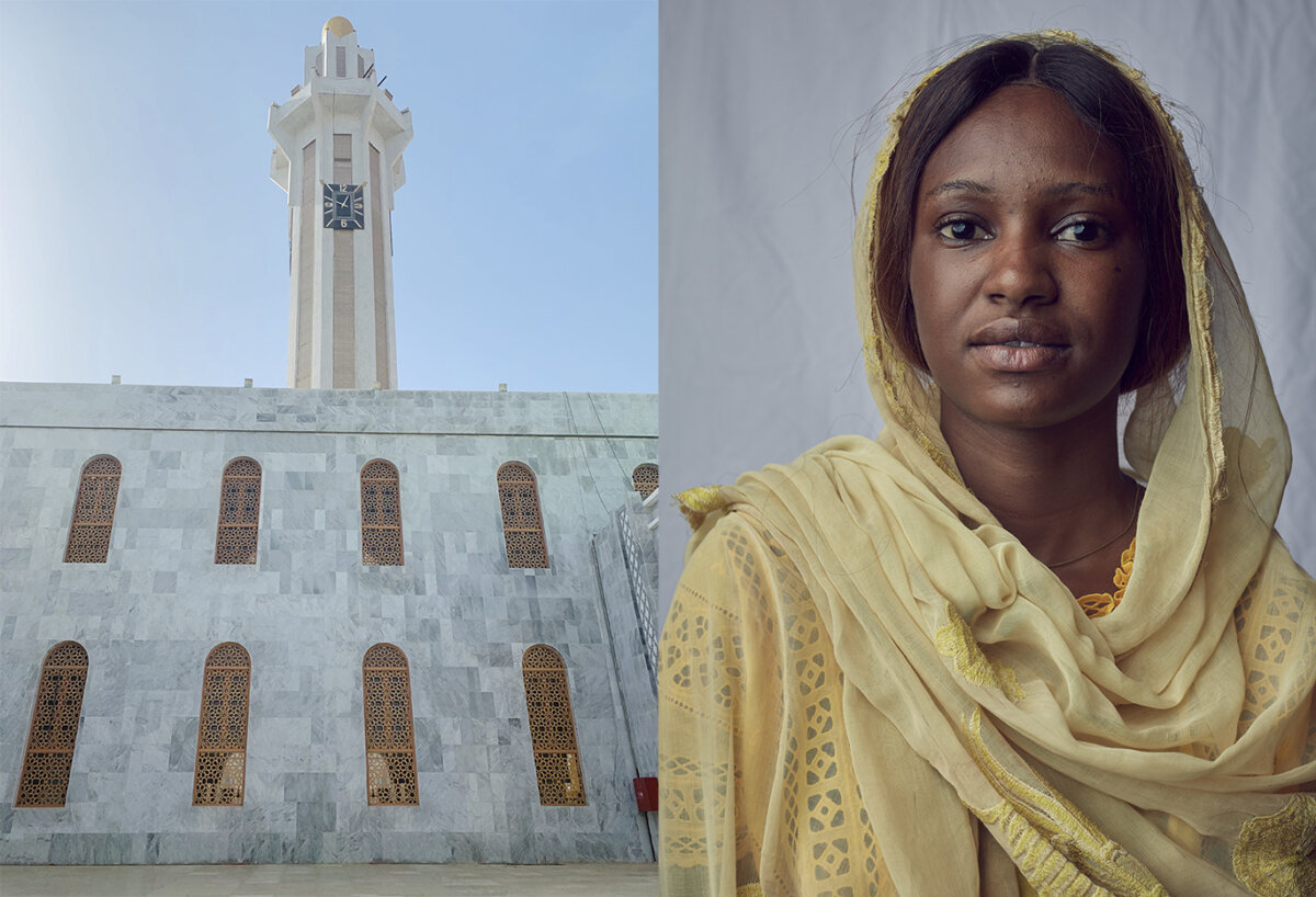 Friday Prayer, Grand Mosque, Senegal. A personal project by Dirk Rees. - CRXSS
