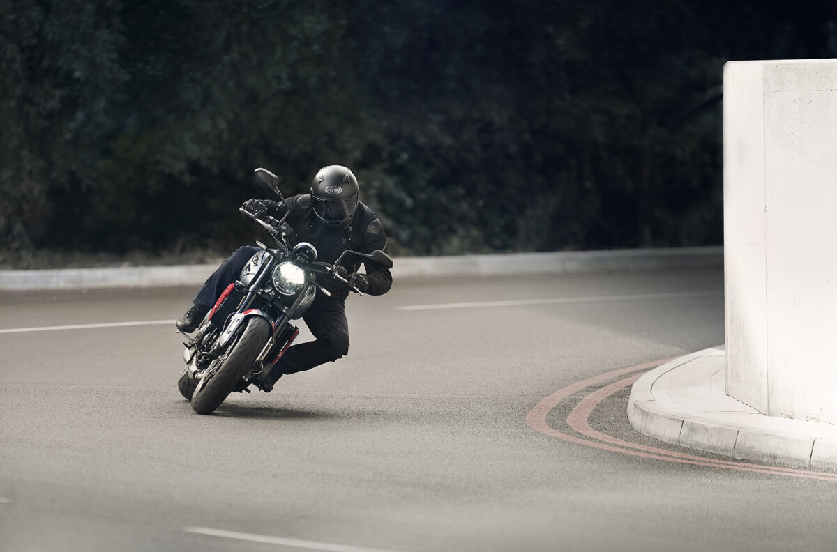 Triumph Trident by Trigger and @crxss_auto launches on Instagram - CRXSS