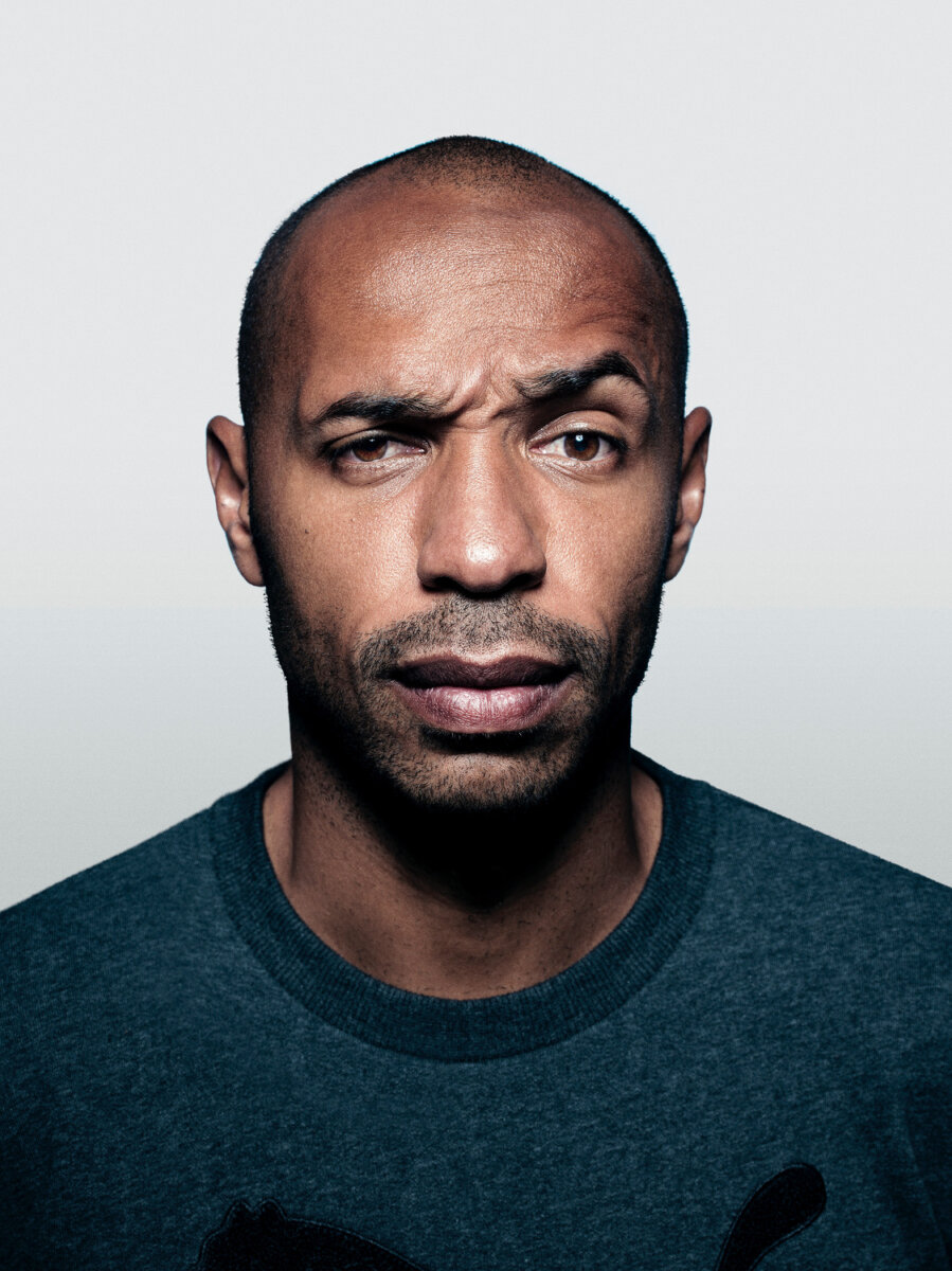 Thierry Henry by Tom Oldham for Four Four Two - CRXSS