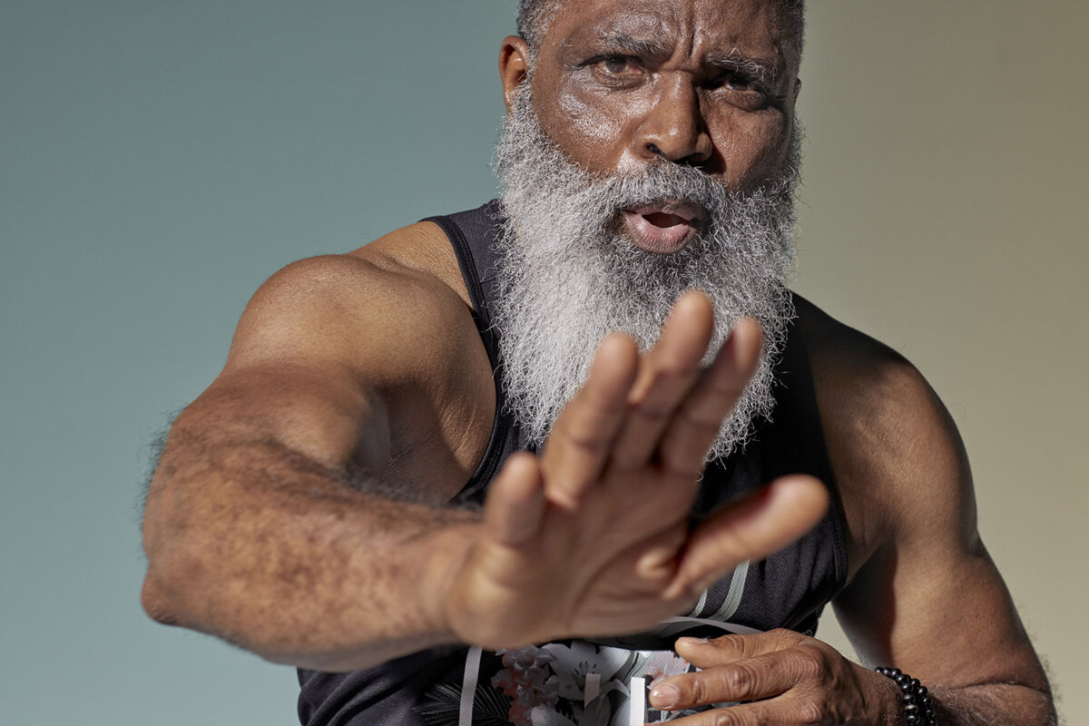OLD AGE. A Life well lived yet still in action. Imagery by Dirk Rees. - CRXSS