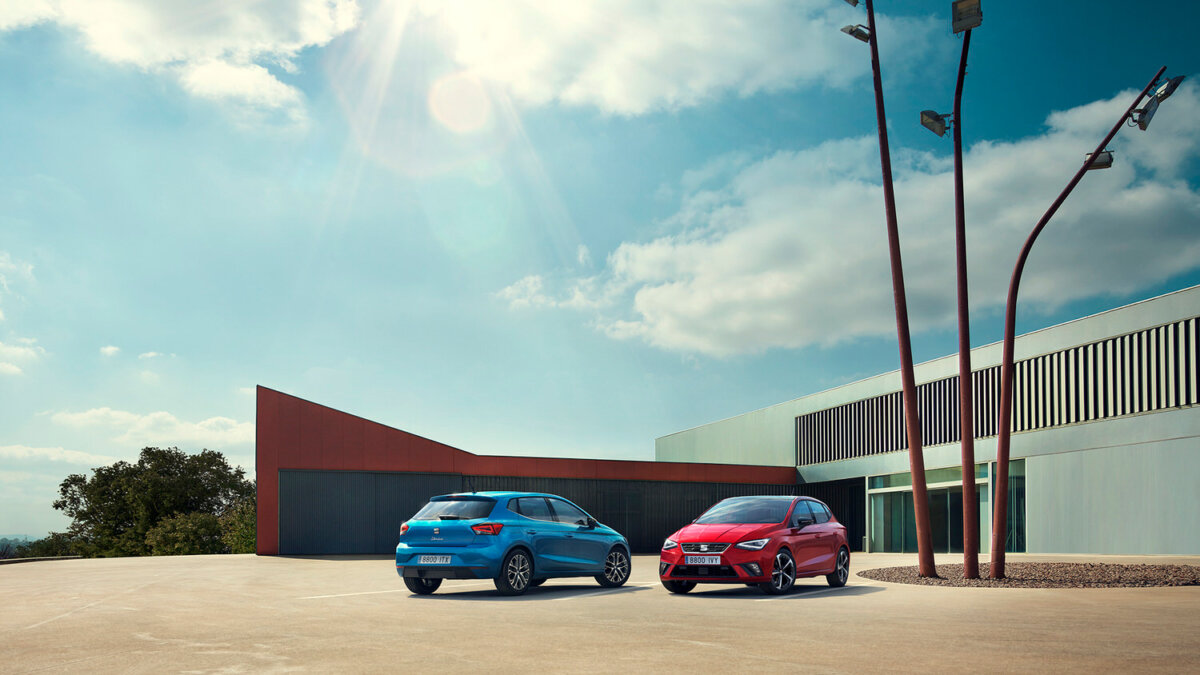 Team CRXSS combines for SEAT Ibiza and ARONA by Simon Puschmann and Circle Media. - CRXSS