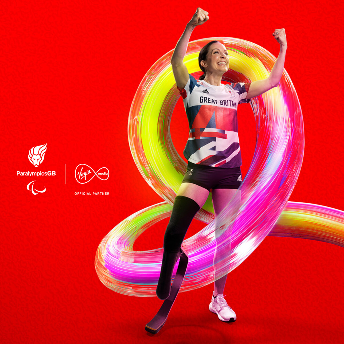Paralympians shot by Tom Oldham for Virgin Media. - CRXSS
