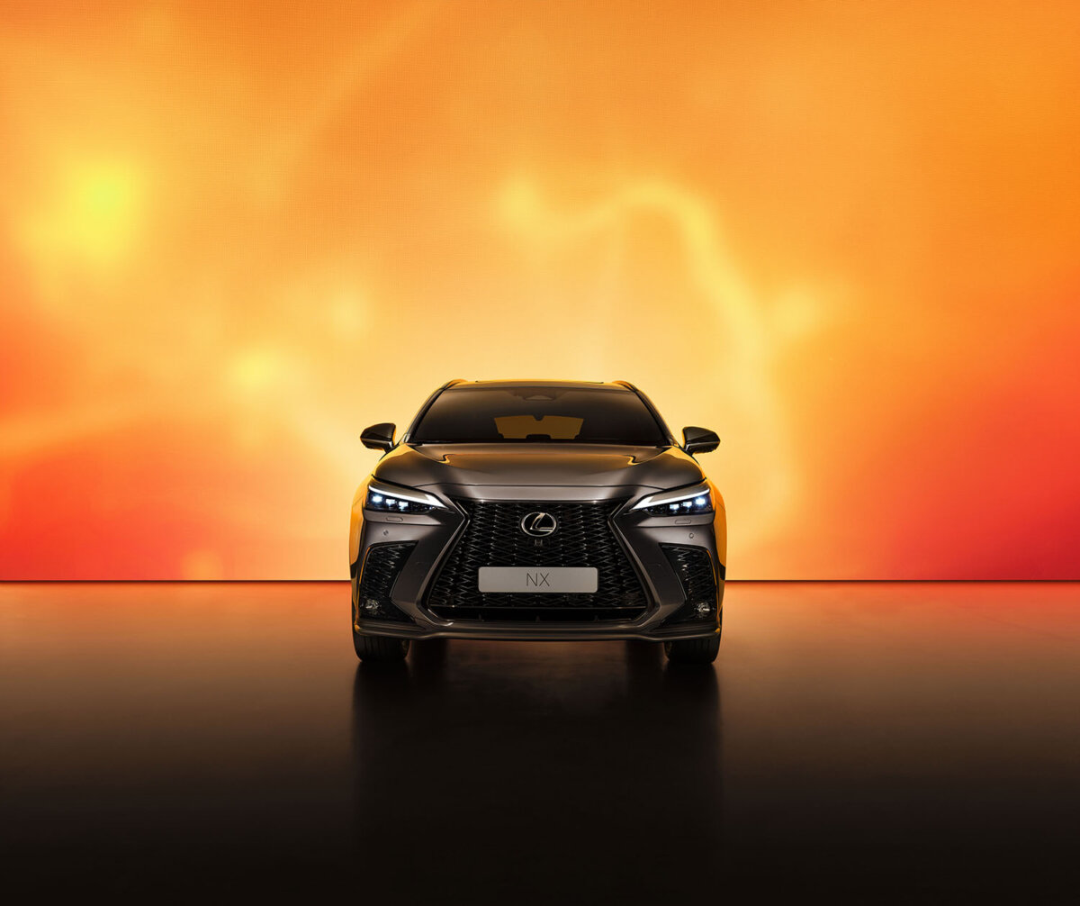 LEXUS NX by Simon Puschmann commissioned by the &Partnership - CRXSS